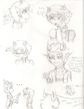 some erisol bloodswap comic by yume-soul210