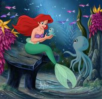 THE NEW FRIEND OF ARIEL by FERNL