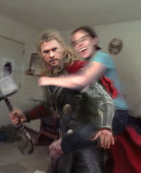 Attack on Thor by TheNeverEndingPit