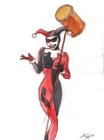Harley Quinn by sequentialartist