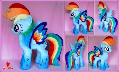 My Little Pony - Rainbow Power Dash by Lavim