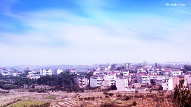 My small village in China by rodgewan
