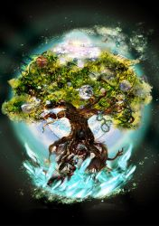 World Tree - For Nobilis by reversenorm