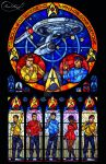 Star Trek - Original Series Stained Glass by nenuiel
