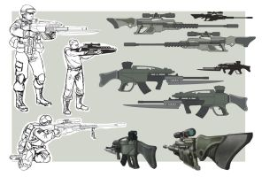 dudes and guns by rosiecoleman