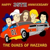 The Dukes of Hazzard 35th Anniversary by mrentertainment