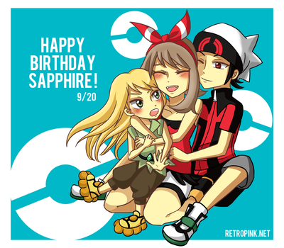 Happy birthday Sapphire ! by retropiink