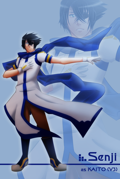 MM: Senji as KAITO by witch-girl-pilar