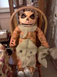 sam from trick r treat doll by nomadicempath