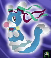 Luminia the Brionne (Commission) by SnivyStuff
