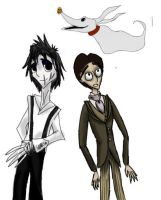 Tim Burton Colab by Crazy-Book-Worm