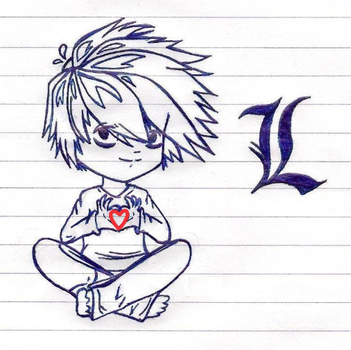 Sketch: L is for Love? by CandyArtist