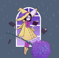 pluviomancy witchsona by missusruin