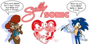 Sonic and Sally Forever by sonicblaster59