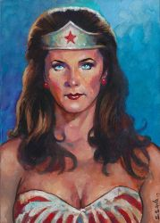 Lynda Carter Wonder Woman by ssava