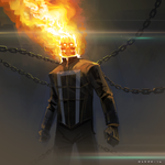 Ghost Rider by mattolsonart