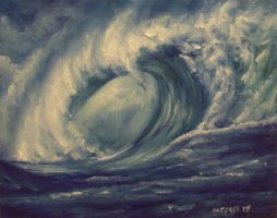 Ocean Wave by mp2015