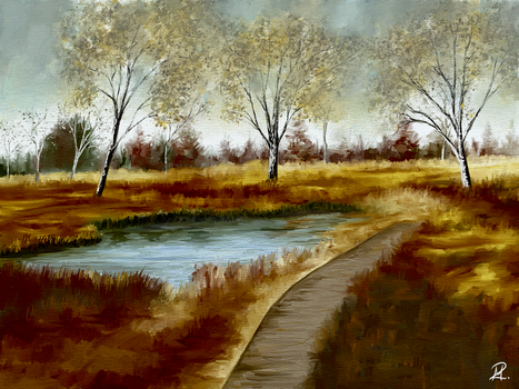 The Wooden Path by MarianthiZ