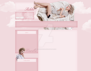 Cariba Heine layout by VelvetHorse