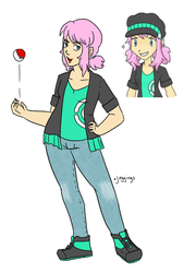 Reference - Rika by Frey-ofthe-Arcane