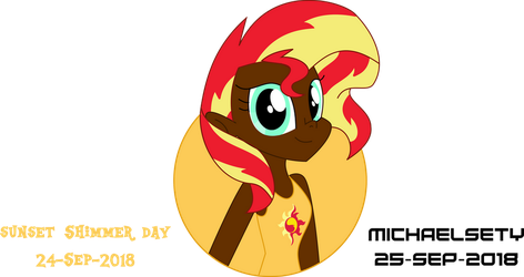 Sunset Shimmer Day by Michaelsety