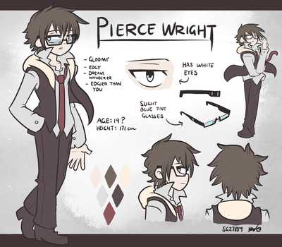 Pierce Wright Character Reference by SG27889