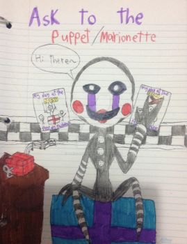 My Ask blog for the Puppet master by Marie-la-tigresse