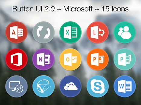Button UI 2.0 ~ Microsoft Office 2016 + Extras by BlackVariant