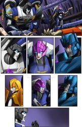 TF Cybertronians page 17 color by shatteredglasscomic