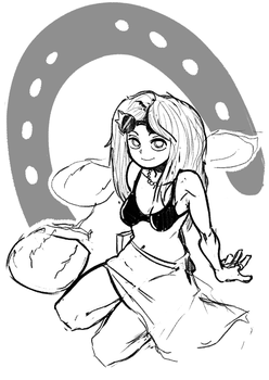 Horseshoe Crabs (Warmup Sketch 1) by SBDraws