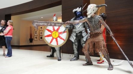 DARK SOULS COSPLAY GROUP ACEN 2013 by XSinstarX