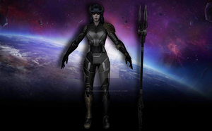 Proxima Midnight (Infinity War) by Pitermaksimoff