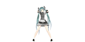 DT Ex Conflict Miku : Finished by SenseiTag