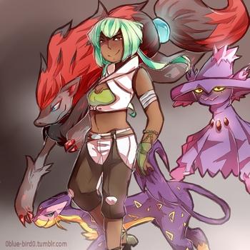 Pokemon Emerald by Sogequeen2550