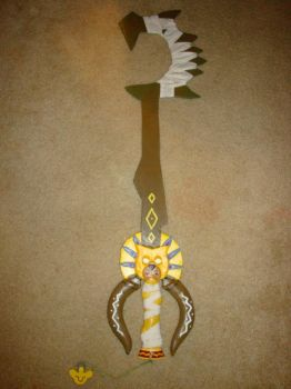 Circle of Life Keyblade by makeshiftwings30