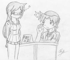 Free Hug? by foresteronly
