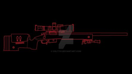 M40A5 sniper rifle by COLT731