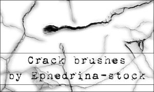 Crack brushes SET 1 by ephedrina-stock