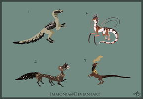 Mixed Creature Adopts 125 [Point Option Available] by Adopt-Monstar