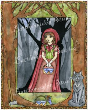 Red Riding Hood by BattleMaiden