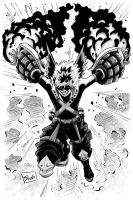 Inktober Day 2: Bakugo by Shono