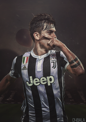 Dybala Poster by HyDrAndre