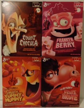The Monster Cereals 2012 by DARKZADAR-ZERO