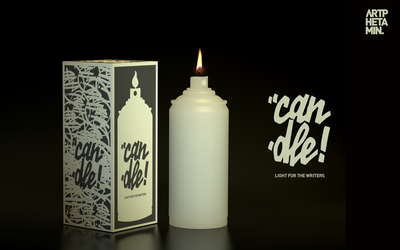 Can-Dle - Light for the Writers! by UnZed