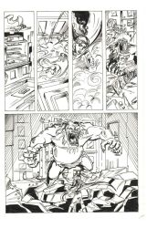 ink Comic Page by LamaBayoun