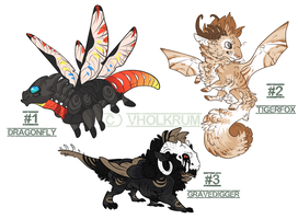 Dragon Hybrid Adopts - ENDED by Vholkrum