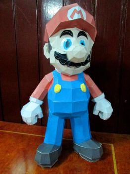 Papercraft - Super Mario 01 by ckry