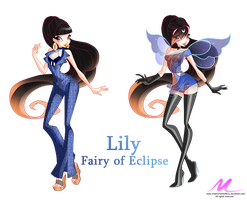 COM: Lily- Fairy of Eclipse by MiaEnchantedFairy