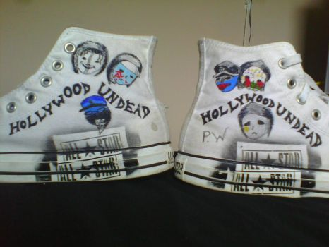 Hollywood Undead Converse by DeathSeaker