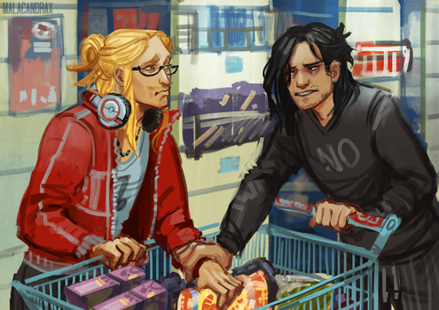 25/30 Shopping by Malacandrax